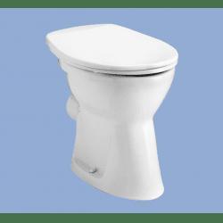 Alföldi Bázis Laposöblítésű Hátsó Kifolyású Álló WC 4030 00