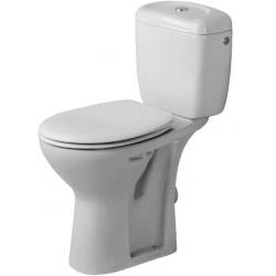 Duravit Duraplus Mélyöblítésű Hátsó Kifolyású Kombináció Álló WC 023009 00 00