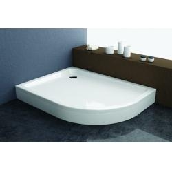 Kolpa San Malur akril balos aszimmetrikus zuhanytálca  120x90x4,5 cm