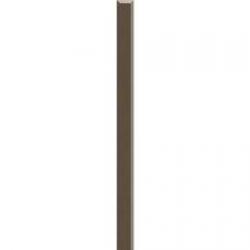 Kwadro Listwy szklane Wenge dekorcsík 2,3 x 25 cm