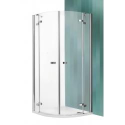 Roltechnik Elegant Line GR2 íves zuhanykabin kétszárnyas ajtóval 100 cm