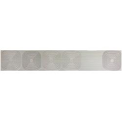 Marconi LS073x600-1-Futura GR GEO dekorcsík 7,3 x 60 cm