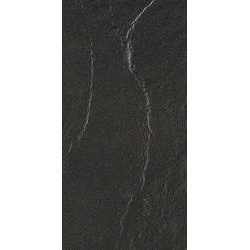 Marazzi Stonehenge M63T Stonehenge Black gres falicsempe és padlólap 30 x 60 cm