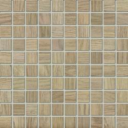 Marazzi Treverk M7XN Mosaico Treverk Teak üvegszálas ragasztott mozaik 30 x 30 cm