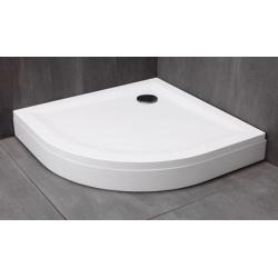 Kolpa San Macarena öntött márvány íves zuhanytálca 100x100x3,5 cm