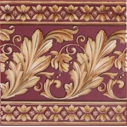 Ape Lord Majesty Burdeos dekorcsempe 20 x 20 cm