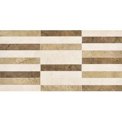 Kanizsa Marfil Mosaico falicsempe 25x50 cm