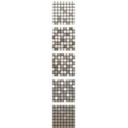 Azulev Mosaico Degradé Solid Taupe mozaik 20 x 20 cm