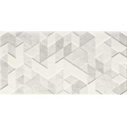 Paradyz Emilly Grys Struktura dekorcsempe 30x60 cm
