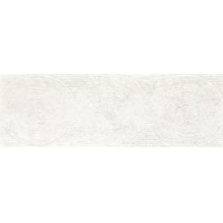 Paradyz Nirrad Biacno Struktura falicsempe 20x60 cm