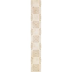 Kwadro Capella Geometryk Giallo dekorcsík 4,8 x 33,3 cm