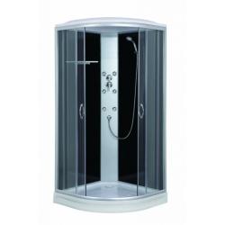 Sanotechnik Punto CL07 íves hidromasszázs zuhanykabin 90 cm