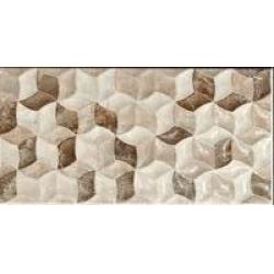 STN Ceramica Rhodes Fan Marron falicsempe 25x50 cm