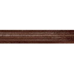Rondine Metallika Fascia Tendia Copper J81887 dekorcsempe 10x60 cm