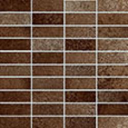 Rondine Metallika Mosaico Mattoncino Copper J81882 mozaik 30x30 cm