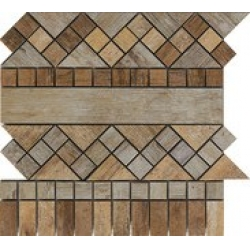 Rondine Metalwood Beige Fascia J84375 dekorcsempe 30,5x30,5 cm