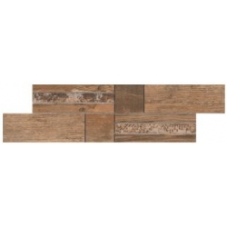 Rondine Salvage Fascia Red J84668 mozaik mix 14x50 cm