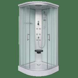 Sanotechnik Rumba CL88 íves hidromasszázs zuhanykabin 90 cm