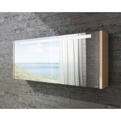 Sharp Glass Mirror 120 T-Boss Fürdőszobabútor