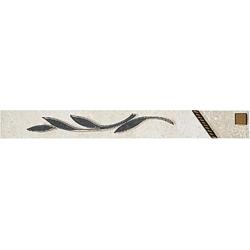 Zalakerámia Travertino SIENA L-102 dekorcsík 25 x 3 cm