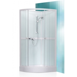 Roltechnik Sanipro Simple komplex üveg-kivitelezésű hidromasszázs kabin 80 cm