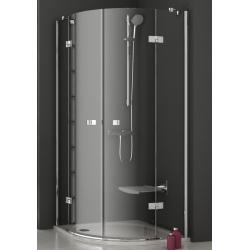 Ravak SmartLine SMSKK4 négyrészes, negyedköríves, kifelé nyíló zuhanykabin 80 cm