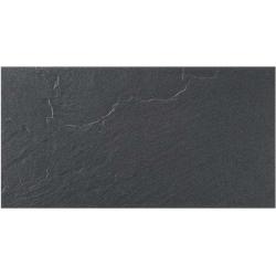 Rocersa Togo Negro gres falicsempe és padlólap 31,6 x 60,8 cm