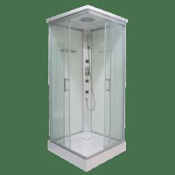 Sanotechnik Twist CL05 szögletes hidromasszázs zuhanykabin 80 cm