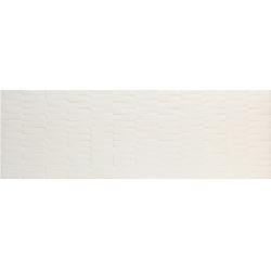 Azulev Vanity Bricks White Mat fehér falicsempe 30 x 90 cm