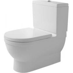 Duravit Starck 3 Big Toilet Mélyöblítésű Hátsó Alsó Vario Kifolyású Kombináció Álló WC 210409 00 00