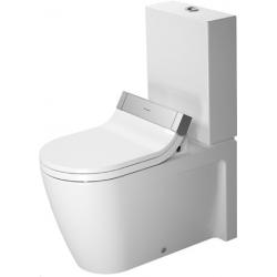 Duravit SensoWash Starck 2 Mélyöblítésű Hátsó Alsó Vario Kifolyású Kombináció Álló WC 212959 00 00