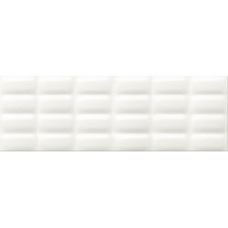 Opoczno White Magic White Glossy Pillow falicsempe 25x75 cm