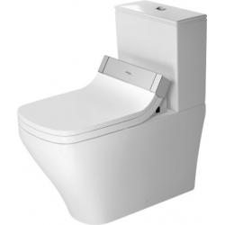 Duravit SensoWash DuraStyle Mélyöblítésű Hátsó Alsó Vario Kifolyású  Kombináció Álló WC 215659 00 00