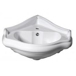 Kerasan Retro Falra szerelhető sarok mosdó 103201 57,5x58 cm