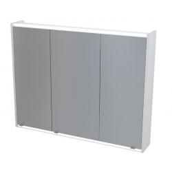Erra Batu 1141130 fürdőszobai tükrös szekrény LED világítással 100x71x16 cm