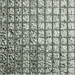 25 Ezüst 41 25x25x8 mm mozaik