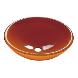 Sapho Beauty Orange üvegmosdó 2501-08 42x14 cm