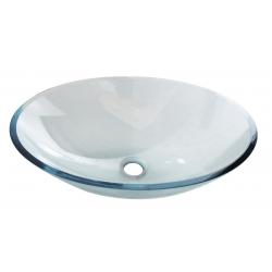 Sapho Beauty Pure ovális üvegmosdó 2501-12 52x13,5x37,5 cm