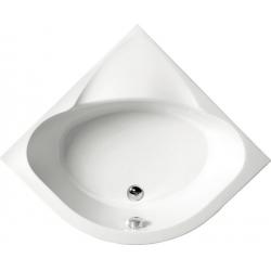 Polysan Selma 28611 akril magasított negyedköríves zuhanytálca  90x90x30 cm