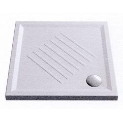 GSI Extra Flat 339711 szögletes kerámia zuhanytálca  90x90x6 cm