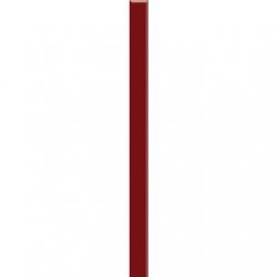 Kwadro Listwy szklane Karmazyn dekorcsík 2,3 x 25 cm