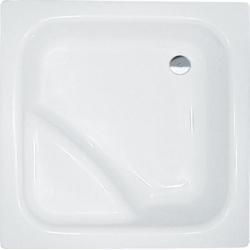 Polysan Visla 50111 akril magasított szögletes zuhanytálca  80x80x27 cm