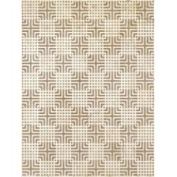 Kwadro Capella Geometryk Brown dekorcsempe 25 x 33,3 cm
