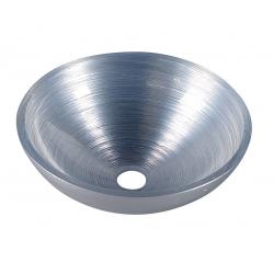 Sapho Murano Silver AL5318-68 Pultra szerelhető üvegmosdó 40x13 cm