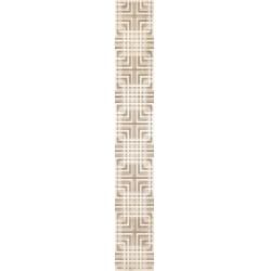 Kwadro Capella Geometryk Brown dekorcsík 4,8 x 33,3 cm