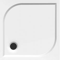 Aqualine Karre HQ008 szögletes öntött márvány zuhanytálca  80x80x3 cm