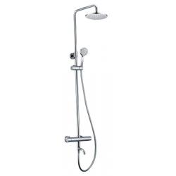 Sapho Kimura KU500 zuhanyoszlop kádtöltő termosztatikus csapteleppel, zuhanyszettel