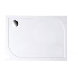 Aqualine Galet HQ12090 öntött márvány téglalap zuhanytálca  120x90x3 cm