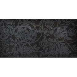 Kanizsa Allegra Fantasia Nera dekorcsempe 25x50 cm