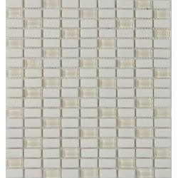 Almond Crystal 15x30x6 mm üveg+kő mozaik